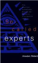 Cover of: So-called experts
