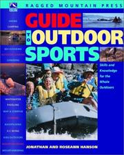 Cover of: Guide to outdoor sports | Jonathan Hanson