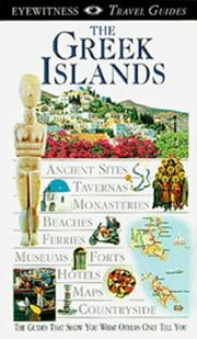 Cover of: Eyewitness Travel Guide to Greek Islands | Kate Poole