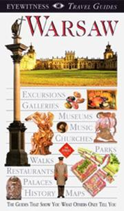 Cover of: Eyewitness Travel Guide to Warsaw | DK Publishing