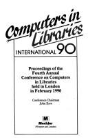 Cover of: Computers in Libraries International, 1990