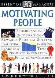 Cover of: Motivating people