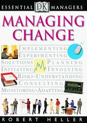 Cover of: Managing change
