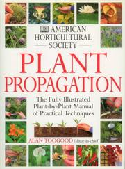 Cover of: Plant propagation | American Horticultural Society.