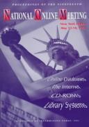 Cover of: National Online Meeting | Martha E. Williams