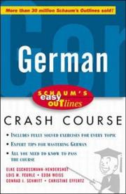 Cover of: German |