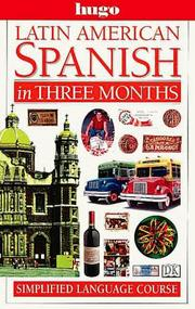 Cover of: Latin American Spanish in three months