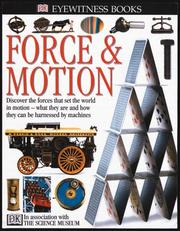 Cover of: Eyewitness: Force and Motion