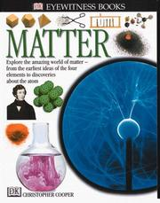 Matter by Christopher Cooper