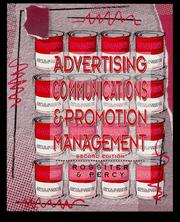 Cover of: Advertising communications & promotion management | John R. Rossiter