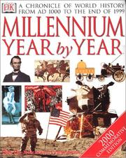 Cover of: Millennium Year By Year | DK Publishing