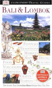 Cover of: Eyewitness Travel Guide to Bali & Lombok