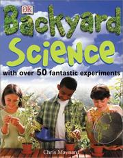 Cover of: Backyard Science