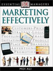 Cover of: Marketing Effectively
