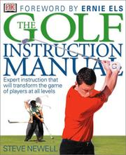 Cover of: The golf instruction manual