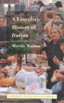 Cover of: A linguistic history of Italian