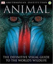 Cover of: Animal | Don E. Wilson, David Burnie