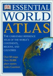 Cover of: DK Essential World Atlas | DK Publishing