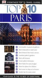 Cover of: Eyewitness Top 10 Travel Guide to Paris | Anna Brooke