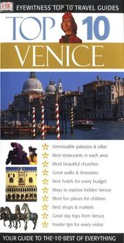 Cover of: Eyewitness Top 10 Travel Guide to Venice