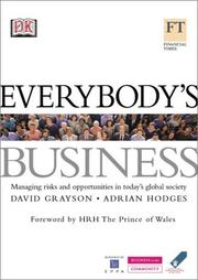 Everybody's Business by David Grayson, Adrian Hodges