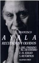 Cover of: Recuerdos y olvidos