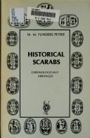 Cover of: Historical scarabs: a series of drawings from the principal collections
