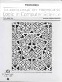 Cover of: Logic in computer science | Symposium on Logic in Computer Science (16th 2001 Boston, Mass.)