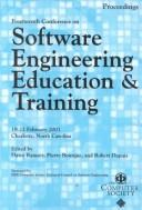 Cover of: Software Engineering Education and Training (Csee&t 2001) | Conference on Software Engineering Education