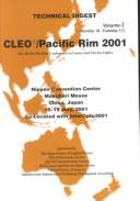 Cover of: CLEO/Pacific Rim 2001 | Pacific Rim Conference on Lasers and Electro-Optics (4th 2001 Chiba, Japan)