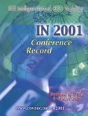 Cover of: IN 2001 | IEEE Intelligent Network Workshop (2001 Boston, Mass.)