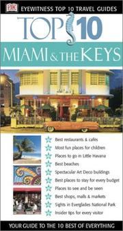 Miami And The Keys by DK Publishing
