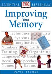 Cover of: Improving your memory | Thomas, David