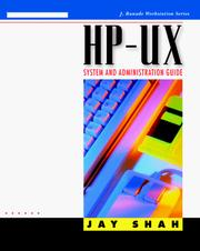 Cover of: HP-UX system and administration guide