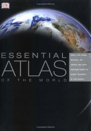 Cover of: Essential Atlas of The World | DK Publishing