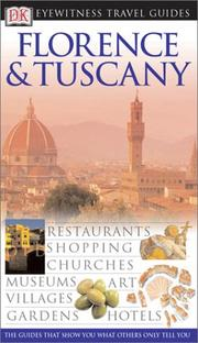 Cover of: Florence & Tuscany | Anna Streiffert