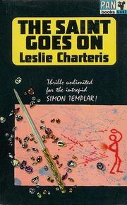 Cover of: Saint Goes On | Leslie Charteris