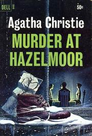 Cover of: Murder at Hazelmoor | Agatha Christie