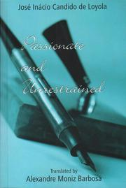 Cover of: Passionate and unrestrained