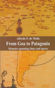 Cover of: From Goa To Patagonia | Alfredo F. de Mello