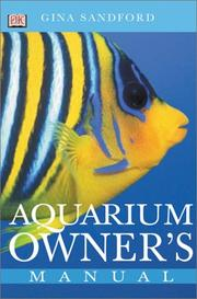 Cover of: Aquarium owner's manual