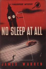 Cover of: No Sleep at All | James Warren