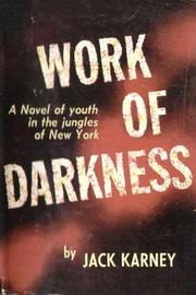 Cover of: Work of Darkness