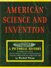 Cover of: American Science and Invention