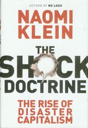 Cover of: The shock doctrine
