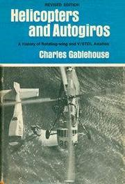 Cover of: Helicopters and autogiros