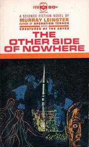 Cover of: Other Side of Nowhere | Murray Leinster