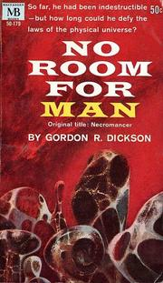 Cover of: No Room for Man