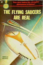 Cover of: The Flying Saucers Are Real
