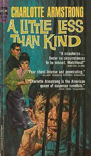 Cover of: A little less than kind